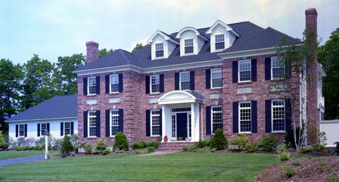 brick colonial